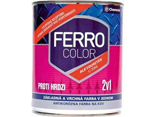 Farba santikoróznou ochranou Ferro
