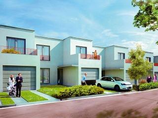 Nové radové domčeky, ktoré