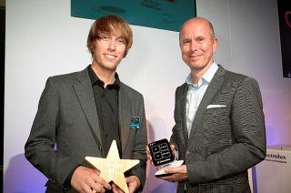 Adrian Mankovecký - víťaz Electrolux Design Lab