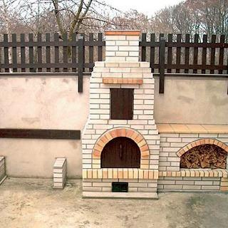 Postup stavby záhradného kozuba
