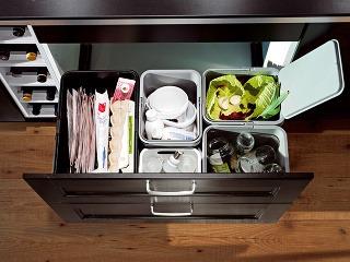 Systém triedenia odpadkov Rationell