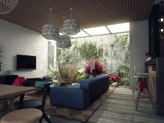 interiérová zeleň