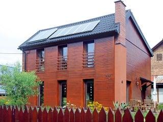 Rodinný dom postavený zkeramických