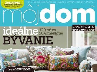 Časopis Môj dom marec