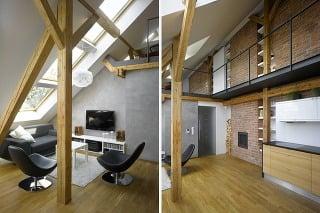 Simple Attic Loft Residence