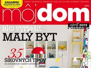 Časopis Môj dom apríl