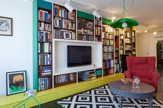 Energické bývanie plné farieb