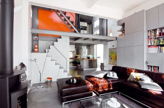 Sivá farba v priestore