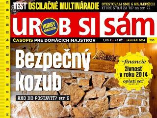 Januárové vydanie časopisu Urob