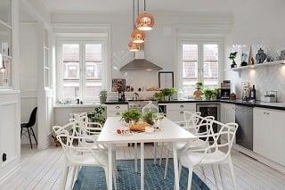 Biele interiérové kúzlo na