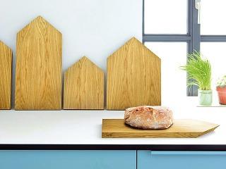 Kuchyňa rozohriata drevom