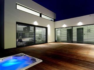 Veľkorysý prízemný dom navrhnutý