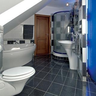 Kúpeľňa s garderóbou v