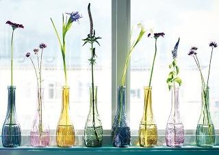 Váza LOVLIG, rôzne vzory afarby, 1,99 €, IKEA