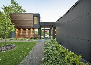 Moderný víkendový dom v