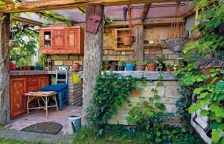 Príborník vletnej kuchyni kedysi