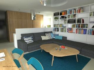 Návrh interiéru do katalógového rodinného domu
