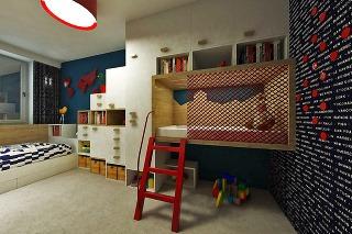 Návrh detskej izby a