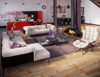 Loftový byt, ktorý sa