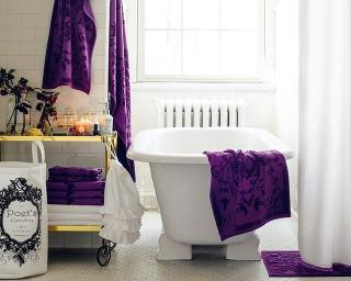 Vintage kúpeľne