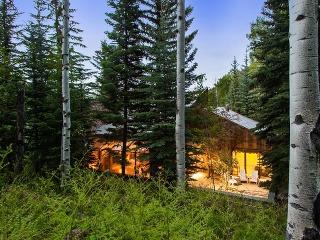 Dom z dreva ukrytý v drsnej prírode dýcha luxusom