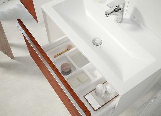 Kúpeľňový nábytok, ktorý si
