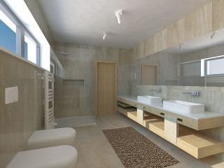 Prepojenie kúpeľne atoalety je otázkou priorít. Ak má však domácnosť troch aviac členov, mali by byť samostatné alebo by sa vinteriéri mala nachádzať ešte jedna toaleta – ideálne pri vstupe, aby poslúžila aj vprípade návštev.