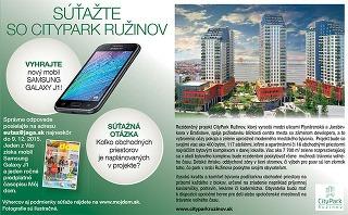 Súťažte so CityPark Ružinov