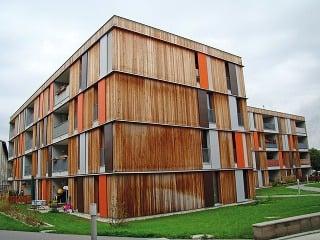 Viacpodlažné bytové domy zdreva
