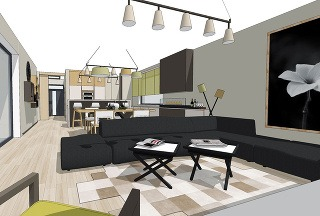 Farebné tienidlá vkusne doplnia interiér. Niesť sa môžu vpodobných alebo kontrastných odtieňoch. Jeden typ svietidla je často dostupný vrôznych verziách, napríklad ako stropné, stojanové či stolové svietidlo. Miestnosť tak môžete zjednotiť aj pomocou sv