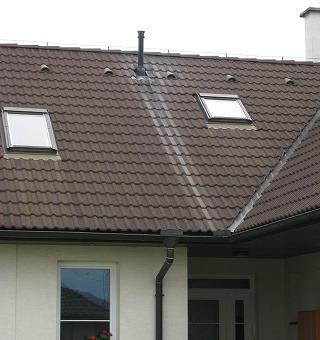 Potrebuje dom komín? Áno.