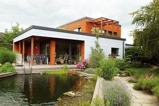 Moderná drevostavba rodinného domu