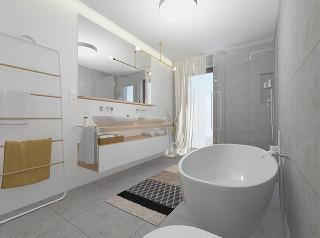Ako vyriešiť kúpeľňu pre