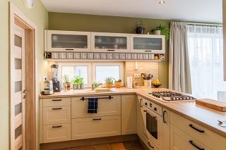 Vydarená premena kuchyňa