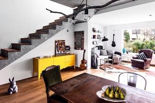 Z hrubej stavby bez nápadu nakoniec vznikol nádherný dom