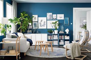 Zdreveného masívu zkolekcie IKEA PS 2017, buk, výška 45 cm, priemer 43 cm, 34,99 €/1 ks, IKEA