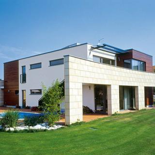 Plochá strecha je charakteristickým prvkom súčasnej modernej architektúry.