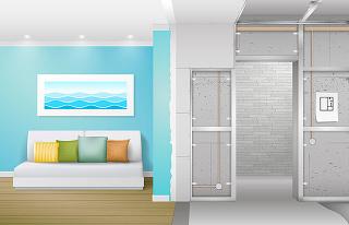 5 tipov ako využiť ľahké priečky pri rekonštrukcii bytu