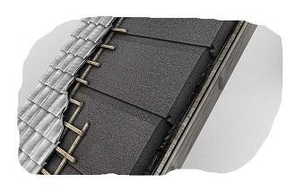 Austrotherm GrEPS Manzard – doska na zateplenie šikmej strechy s vynikajúcimi tepelnoizolačnými vlastnosťami z expandovaného penového polystyrénu s prímesou grafitu
