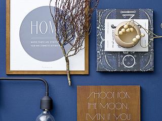 Škola interiérových farieb: Modrá