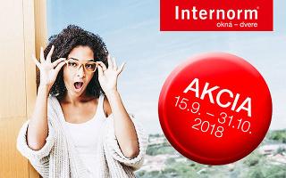 Jesenná akcia 2018 Internorm!