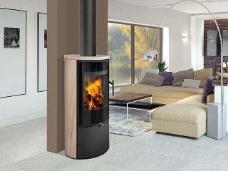Atraktívny zdroj tepla pre