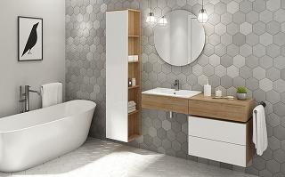 Kúpeľňová zostava Kiara, www.temponabytok.sk