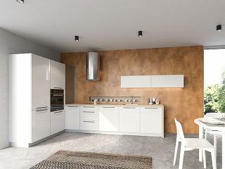 Biely lesk v rade Dolti : kuchynský nábytok ARTIQA