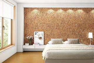Obklad na stene zkorku je prirodzene antistatický, preto sa na ňom nedrží prach. Je tiež odolný proti drevokaznému hmyzu, hubám aplesniam. Navyše, interiéru dodáva príjemný pocit tepla.