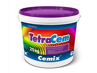 Tenkovrstvová omietka Cemix TetraCem v balení po 25 kg.