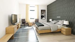 Vobytnej miestnosti by teplota podlahy spodlahovým vykurovaním nemala presiahnuť 27 °C (tzv. hygienické teplotné maximum). Vyššia povrchová teplota môže totiž pri dlhodobom pôsobení predstavovať zdravotné riziko. Stavba by teda mala mať také technické p
