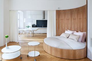 Rafinované riešenie interiéru, aké by ste v byte rozhodne nečakali