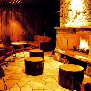 Príklad kamennej podlahy v hoteli Tri studničky v Demänovskej doline