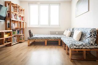 obývačka v byte